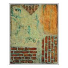 Între ziduri-tablou-abstract_pictat-manual
