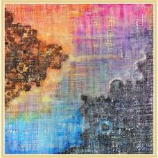 """""""Dantele...""""20-0102 - Tablou unicat, pictat manual in original pe panza - Abstracte"""