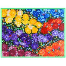 """Explozie de optimism"" - Tablou cu flori"