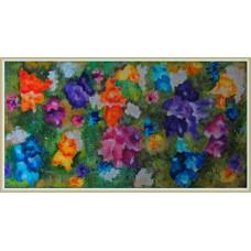 """""""Explozie florala"""" - tablou cu flori"""