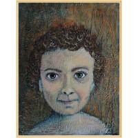 """""""Intrebarile din ochii unui copil""""- compozitie artistica"""