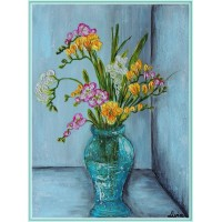 """""""Parfum de frezii""""-tablou cu flori"""