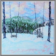 """""""Sperante leganate""""- peisaj de iarna"""