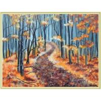 """""""Toamna rătăcită în pădure"""" - peisaj de toamnă"""