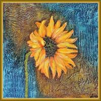 """tablou cu floarea soarelui - """"… a doua …"""""""