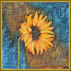 """""""... a doua ..."""" - tablou cu floarea soarelui"""