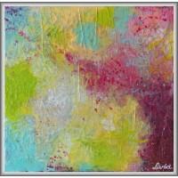 Amestec pastelat21-0930 - Tablou unicat, pictat manual in original pe panza - Abstracte