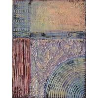 Antique - Tablou unicat, pictat manual pe panza - Abstracte