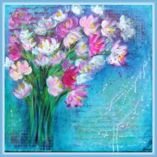 Buchet de primavara - Tablou cu flori