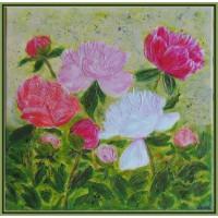 Tablou cu flori - Bujori