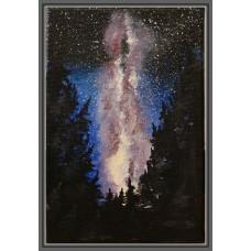 """""""Calea Lactee"""" - tablou cu cer  înstelat"""