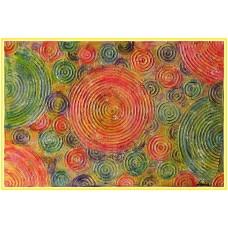 Cercurile vietii21-0809 - Tablou unicat, pictat manual in original pe panza - Abstracte