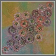 Crizanteme stilizate