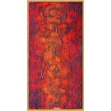 Curgerea timpului21-0986 - Tablou unicat, pictat manual in original pe panza - Abstracte