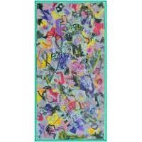 Despre bucurie...21-0581 - Tablou unicat, pictat manual in original pe panza - Abstracte