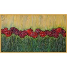 Dor de soare21-1048 - Tablou unicat, pictat manual in original pe panza - Flori