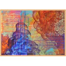 Experiente…20-0403 - Tablou unicat, pictat manual in original pe panza - Abstracte