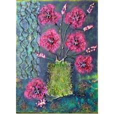 Flori in glastra si pe langa