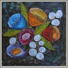 'Florile noptii' - tablou cu flori