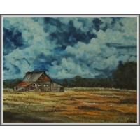 Furtuna21-0745 - Tablou unicat, pictat manual in original pe panza - Peisaje