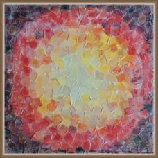 'Lumina pixelata' - Tablou abstract