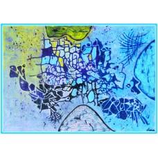 Metamorfoze21-0481 - Tablou unicat, pictat manual in original pe panza - Abstracte