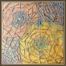 Panze de paianjen - Tablou unicat, pictat manual pe panza - Compozitii