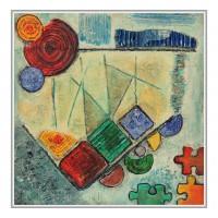 Puzzle de culori. Abstracte