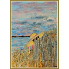 Romantism…20-0395 - Tablou unicat, pictat manual in original pe panza - Peisaje
