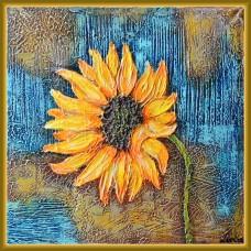 """tablou cu floarea-soarelui - """"... si ultima!"""""""