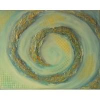 Spirală cu cafea. Abstracte
