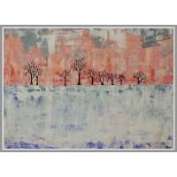 Tablou si pictat (cu spaclul) cu culori acrilice