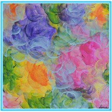 Valuri de arome21-0571 - Tablou unicat, pictat manual in original pe panza - Abstracte