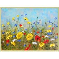 'Vara' - peisaj cu flori