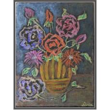 Vaza cu flori - Tablou cu flori
